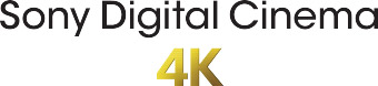 Sony Digital Cinema 4K logo