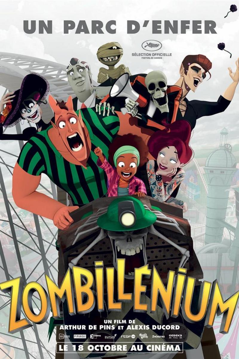 Affiche Film Zombillenium disponible en EclairColor