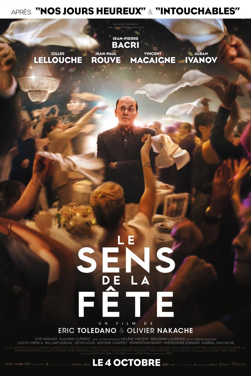 Affiche Film Le Sens de la Fête disponible en EclairColor