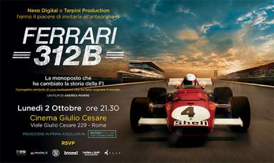 Ferrari 312B Sneak Preview in EclairColor
