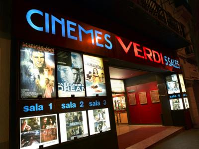 Cines Verdi Barcelona equipped with EclairColor